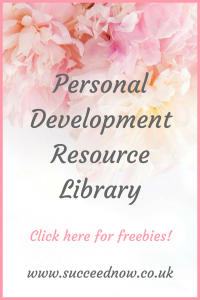 Click here to get access to the FREE resources library full of personal development workbooks, guides, checklists and video series.